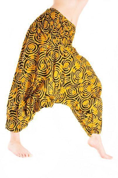 Алладины желтые штаны, афгани, шаровары