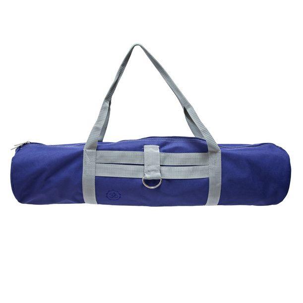 Элегантная сумка для йога-коврика Nidra, тёмно-синяя