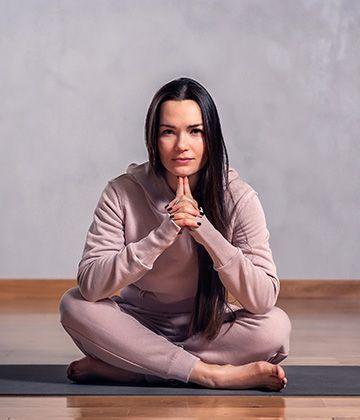 Анастасия Веретенникова в одежде Ojas Aura