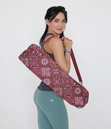Сумка для йога-коврика Kevala бордо