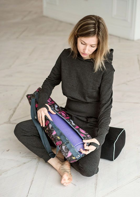 Коврик для йоги и сумка для коврика