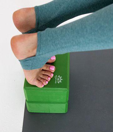 Опорный блок для йоги и пилатеса
