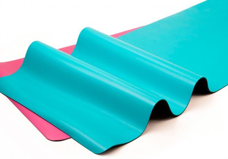 Качественные резиновые коврики для йоги