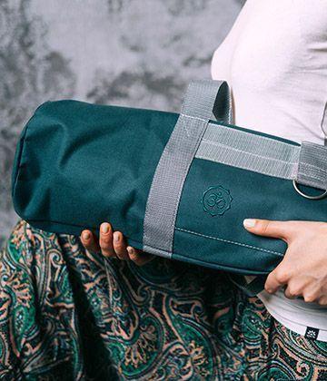 сумка для коврика однотонная Nidra