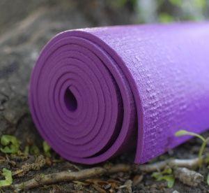 Коврик для йоги из ПВХ