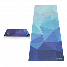 Коврик для йоги YogaDesignLab Travel Mat Geo Blue 178*61*0,1 см