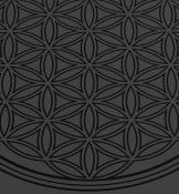 Flower of Life Grey