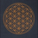Anthracite Flower of Life